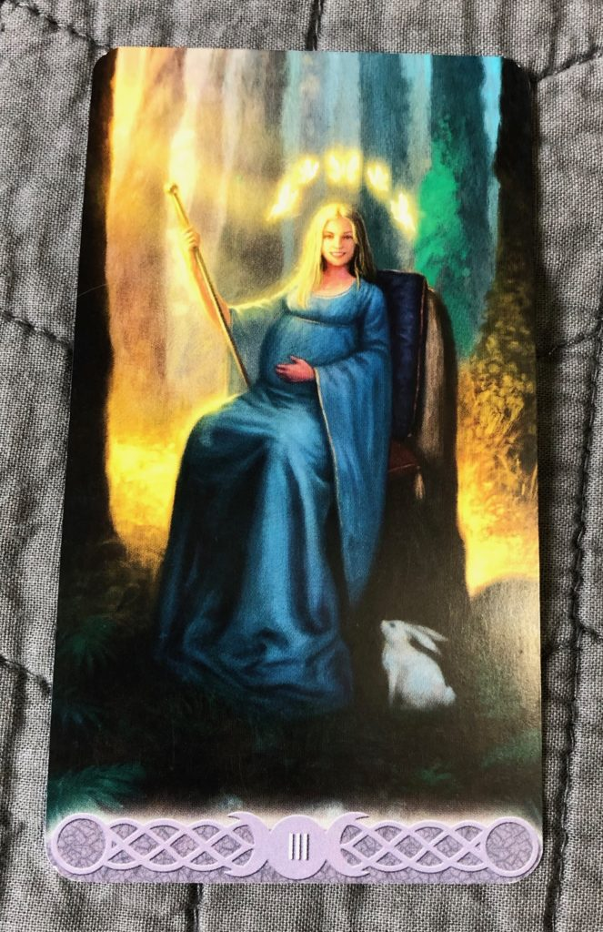 The Empress from the Triple Goddess Tarot