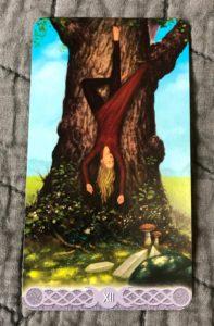 The Hanged Man from the Triple Goddess Tarot