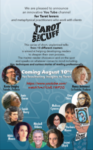 The PR poster for Tarot Off the Cuff