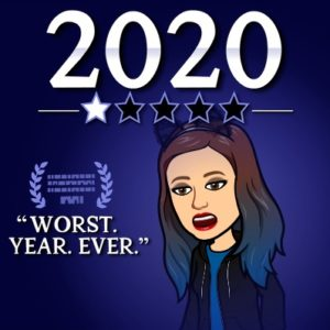 image says 2020. Worst. Year. Ever